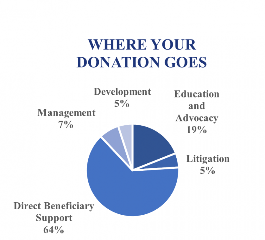 Donation-Use Pie Chart